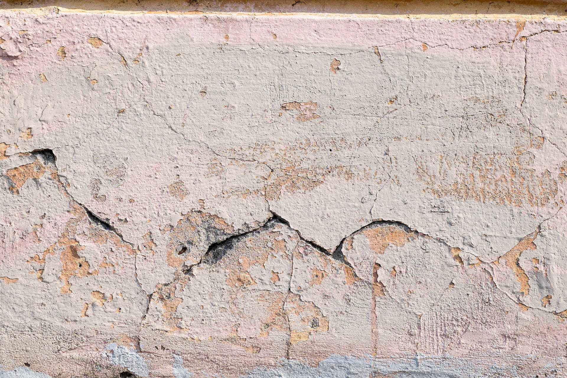 Cracks on Old Wall